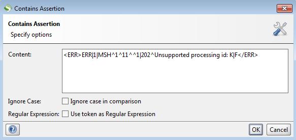 SoapUI: aserto para validar por qué el mensaje HL7 no es válido