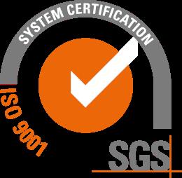 Logo certificación ISO 9001 Caduceus