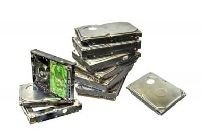 Pila de discos duros