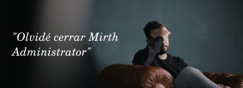 Desarrollador ha olvidado cerrar Mirth Administrator y está desolado